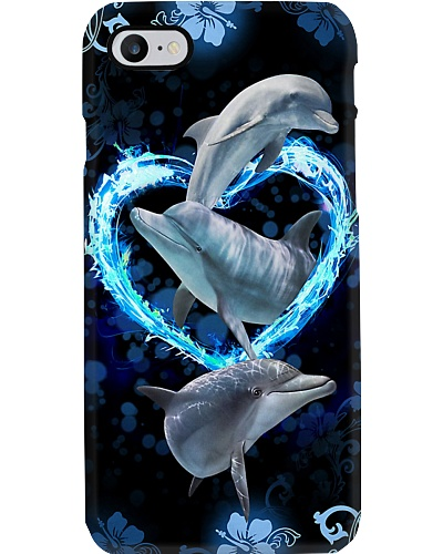 Dolphin 3D Printed Phone Case