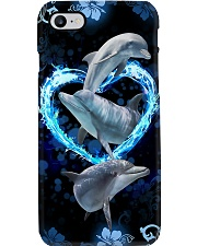 Dolphin 3D Printed Phone Case Phone Case i-phone-7-case