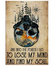 Skull And Into The Forest I Go 11x17 Poster front