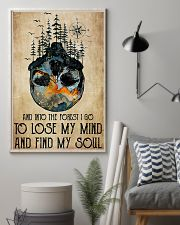 Skull And Into The Forest I Go 11x17 Poster lifestyle-poster-1