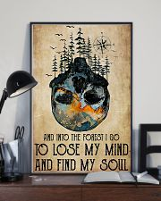 Skull And Into The Forest I Go 11x17 Poster lifestyle-poster-2