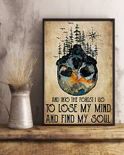 Skull And Into The Forest I Go 11x17 Poster lifestyle-poster-3