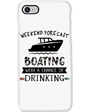 Boat Weekend Forecast Phone Case tile