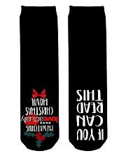 Best Socks For Christmas Crew Length Socks back