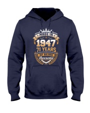 Made in 71 - 1947 years of being awesome Hooded Sweatshirt thumbnail