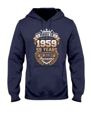 Made in 59 - 1959 years of being awesome Hooded Sweatshirt thumbnail