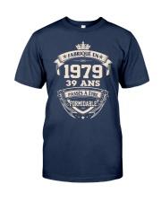 fabrique en 39 - 1979 formidable Classic T-Shirt front