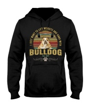 bulldog3 Hooded Sweatshirt thumbnail