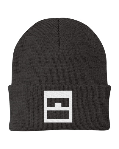 Boxhead and Pixelface Beanie