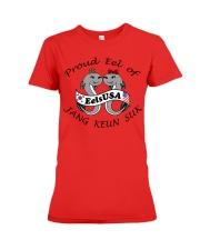 Proud Eel of Jang Keun Suk Premium Fit Ladies Tee front