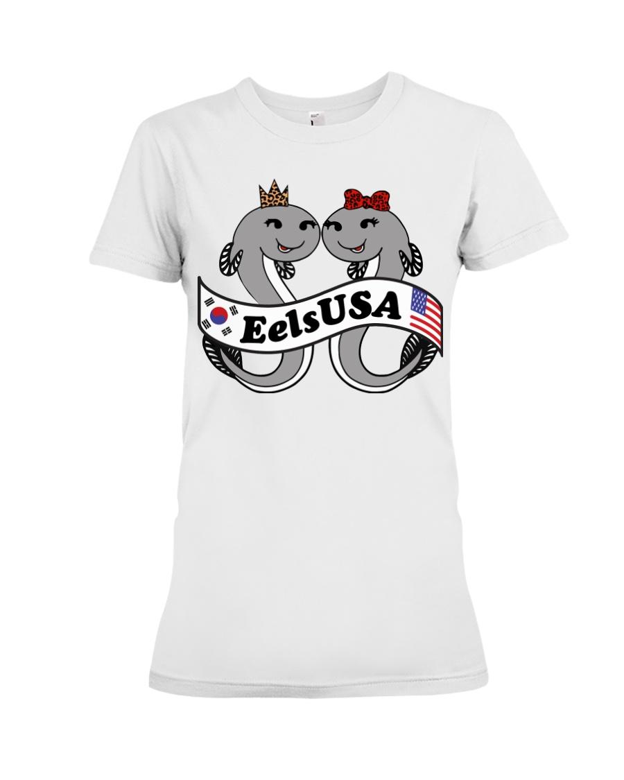 EelsUSA 2018 Campaign  Premium Fit Ladies Tee