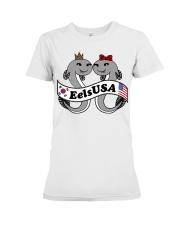 EelsUSA 2018 Campaign  Premium Fit Ladies Tee front