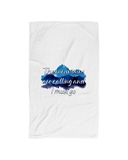 I MUST GO THE MOUNTAINS ARE CALLING Hand Towel thumbnail