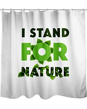 I stand For Nature Shower Curtain thumbnail