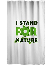 I stand For Nature Window Curtain - Sheer thumbnail