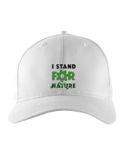 I stand for nature Embroidered Hat front