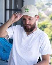 I stand for nature Embroidered Hat garment-embroidery-hat-lifestyle-05
