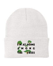 I am at home among the Trees Knit Beanie tile