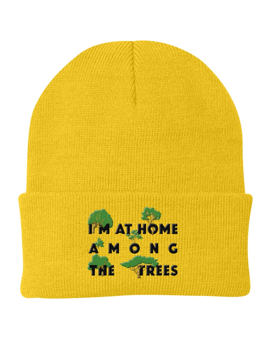 I am at home among the Trees Knit Beanie