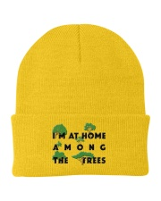 I am at home among the Trees Knit Beanie front