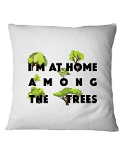 I am at home among the Trees Square Pillowcase tile