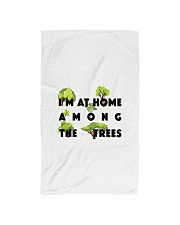 I am at home among the Trees Hand Towel tile