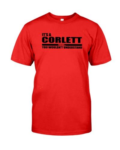 CORLETT awesome lovely gift Shirt