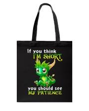 think short dragon TS Tote Bag thumbnail