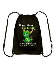 think short dragon TS Drawstring Bag thumbnail