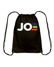 Joe Biden JOE Joe Pride Gay Rainbow Drawstring Bag thumbnail