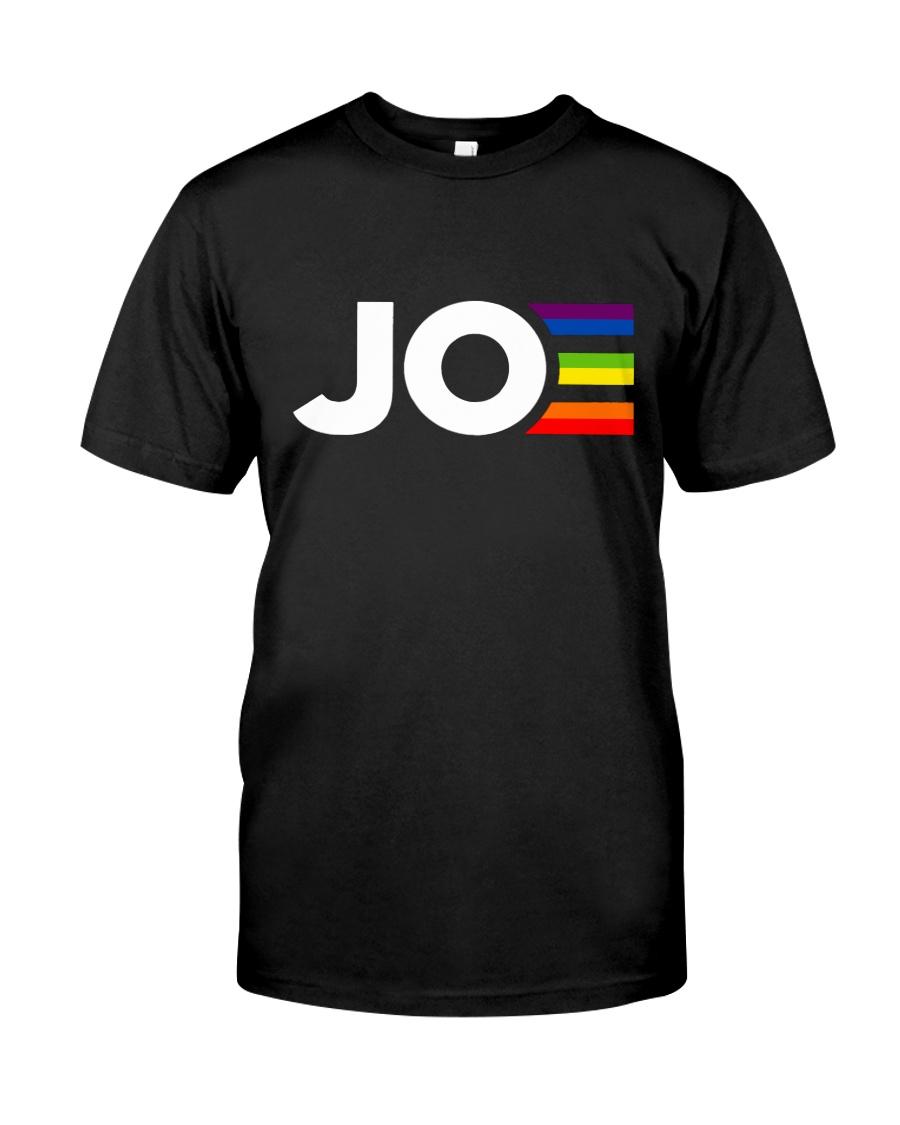 Joe Biden JOE Joe Pride Gay Rainbow Classic T-Shirt