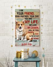 Corgi Friend  11x17 Poster lifestyle-holiday-poster-3