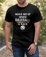 Wake Me Up When Baseball Classic T-Shirt apparel-classic-tshirt-lifestyle-front-53