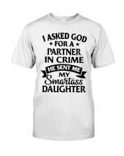 Partner In Crime Daughter  Classic T-Shirt thumbnail