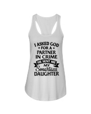 Partner In Crime Daughter  Ladies Flowy Tank front