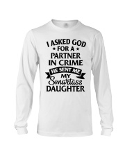 Partner In Crime Daughter  Long Sleeve Tee thumbnail