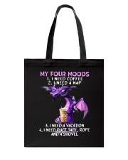 Dragon Coffee  Tote Bag thumbnail