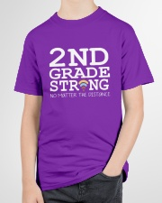 2nd Grade Strong No Matter The Distance Wifi  Youth T-Shirt garment-youth-tshirt-front-lifestyle-01