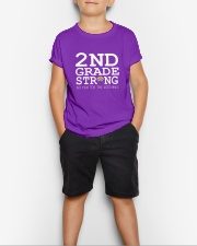 2nd Grade Strong No Matter The Distance Wifi  Youth T-Shirt lifestyle-youth-tshirt-front-1