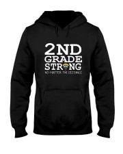 2nd Grade Strong No Matter The Distance Wifi  Hooded Sweatshirt thumbnail