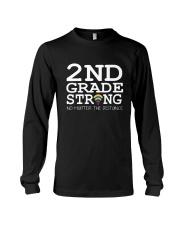 2nd Grade Strong No Matter The Distance Wifi  Long Sleeve Tee thumbnail