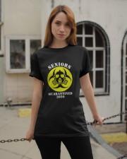 Senior Quarantined 2020 Classic T-Shirt apparel-classic-tshirt-lifestyle-19