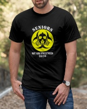 Senior Quarantined 2020 Classic T-Shirt apparel-classic-tshirt-lifestyle-front-53