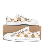 Pomeranian Shoes Men's Low Top White Shoes thumbnail
