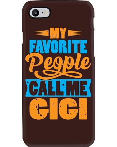 My Favorite People Call Me Gigi