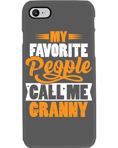 My favorite People Call Me Granny