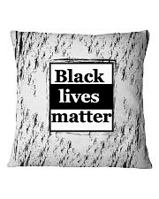 Black lives matter Square Pillowcase thumbnail