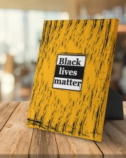 Black lives matter 8x10 Easel-Back Gallery Wrapped Canvas aos-easel-back-canvas-pgw-8x10-lifestyle-front-04