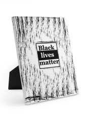 Black lives matter 8x10 Easel-Back Gallery Wrapped Canvas thumbnail
