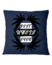 Best Uncle Ever Square Pillowcase back